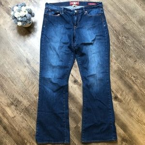 Lucky Brand Jeans Sophia boot size 14/32